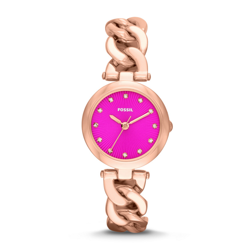 Fossil Watches For Women Rose Gold Watch Rose Gold Tone