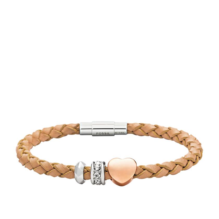 jf01567 charm starter leather bracelet
