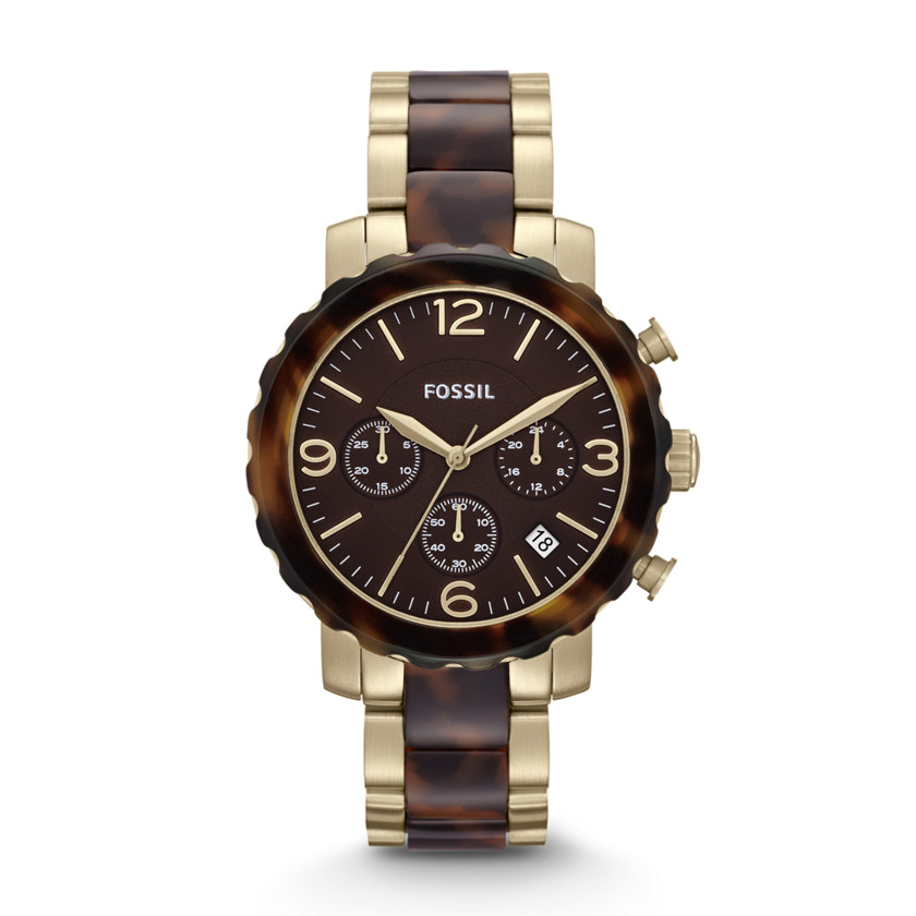 Fossil Watches For Women Two Tone Steel Watch – Two-tone