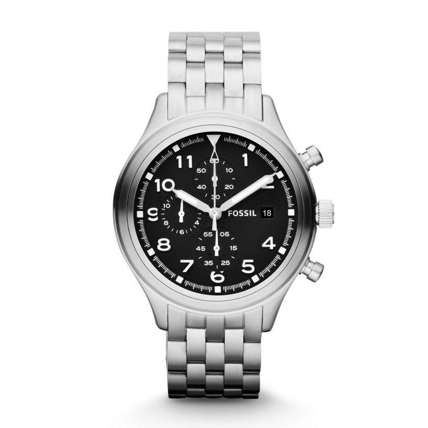 Nate Compass Chronograph Gunmetal Stainless Steel …